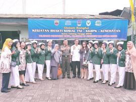 Kegiatan Bhakti Sosial TNI-KKBPK-Kesehatan Kota Tebing Tinggi 2018